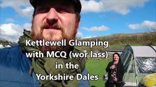 Glamping at Kettlewell Campsite, Yorkshire Dales