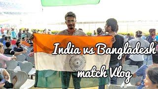 INDIA vs BANGLADESH football match 2019 vlog..☺️