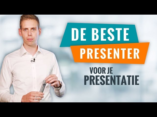 De Beste Afstandsbediening Voor Je Presentatie | Presentatie Tips | PPT Solutions