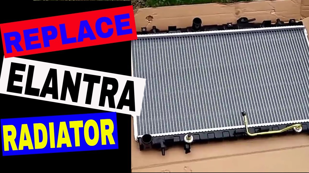 Radiator for 2002 hyundai elantra