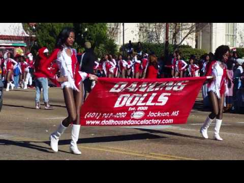 The Dancing Dolls of Dollhouse Dance at the 2016 COJ Holiday Parade