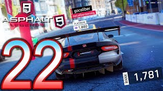 ASPHALT 9 Legends Switch Walkthrough - Part 22 - Multiplayer Acura Series