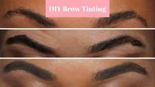 DIY Eyebrow Tinting |Just for Me Beard Dye
