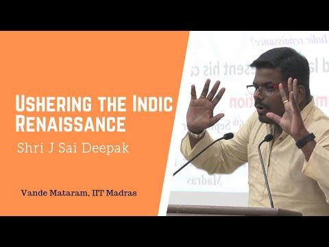 J Sai Deepak :Ushering the Indic Renaissance | Vande Mataram