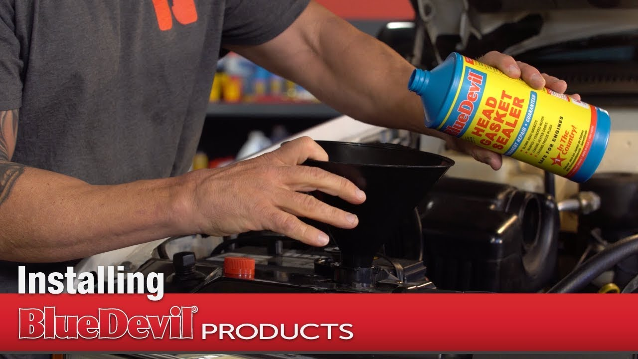 How to Install BlueDevil Head Gasket Sealer - Video