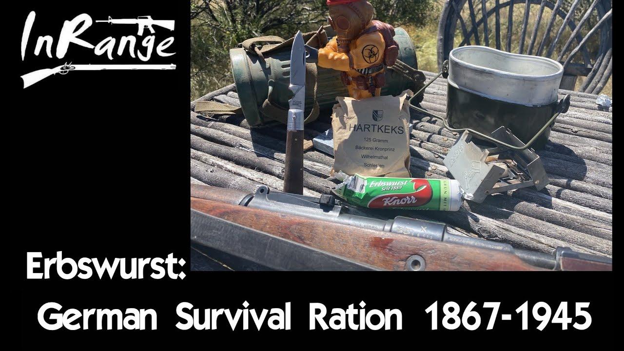 Erbswurst - German Survival Ration 1867-1945