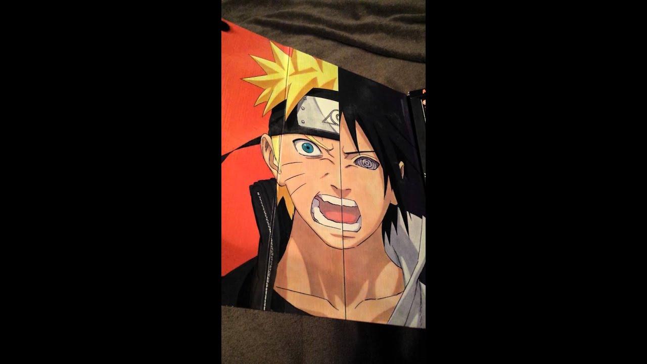 Naruto Box Set 3 Vol 49 72 Unboxing YouTube