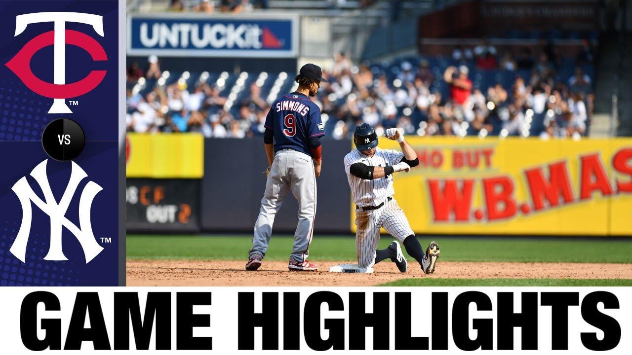 Download Twins vs. Yankees Game Highlights (9/13/21)   MLB Highlights