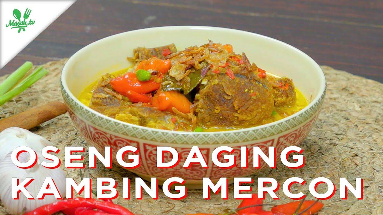 Resep Oseng Daging Kambing Mercon