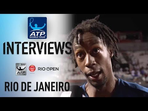 Monfils Relieved To Get Past Cilic In Rio