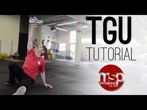 TURKISH GET UP tutorial: Instruction on how to perform the Kettlebell TGU exercise TECHNIQUE HUB
