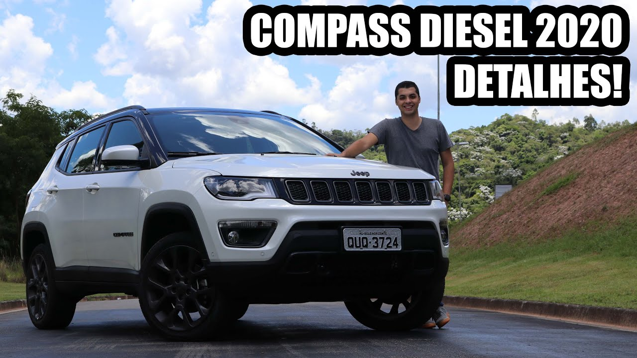 Novo Jeep Compass Diesel 2020 Falando De Carro Youtube
