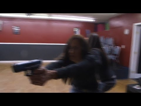 Colorado school teachers learn to use guns for self defense