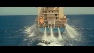 Captain Phillips-Drive the pirates with the fire hose and the signal flare.