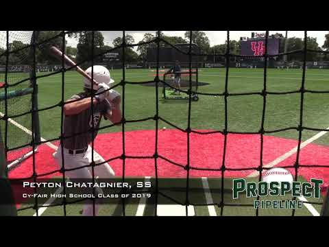 Peyton Chatagnier Prospect Video, SS, Cy Fair High School Class of 2019