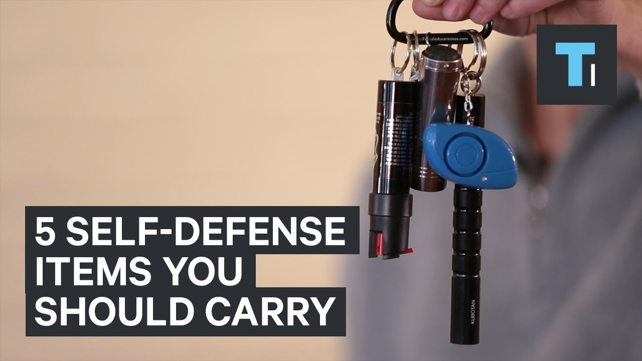 5 Self Defense Items You Should Carry Youtube