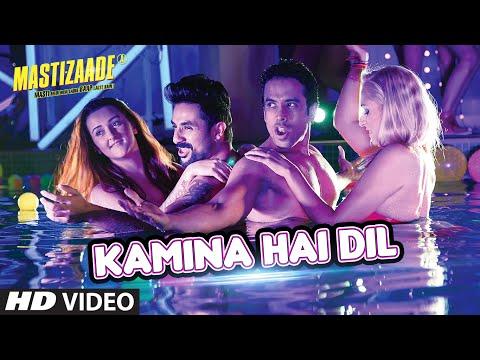 KAMINA HAI DIL VIDEO SONG | Mastizaade | Sunny Leone, Tusshar Kapoor, Vir Das | T-Series