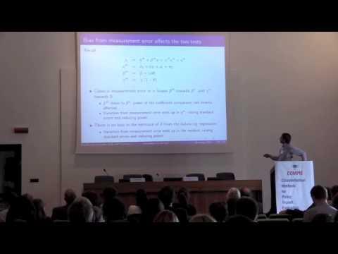 COMPIE Keynote Lecture - Joern-Steffen Pischke (LSE)