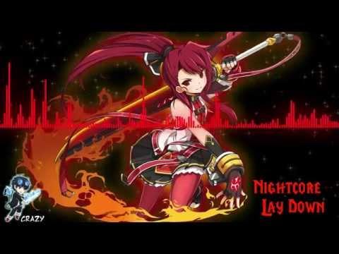 Nightcore  Lay Down