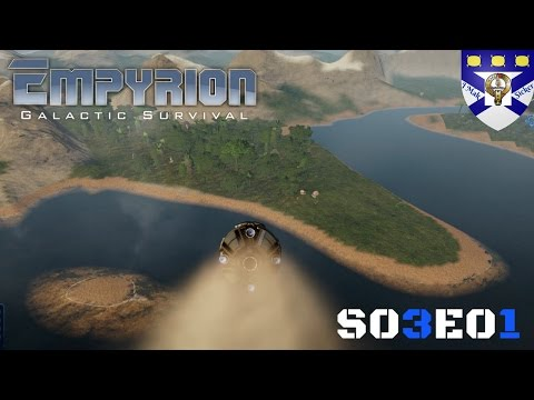 "Empyrion Galactic Survival Alpha 5 (S03) -Ep 1 ""Epic Crash Landings"" -Multiplayer ""Let's Play"""