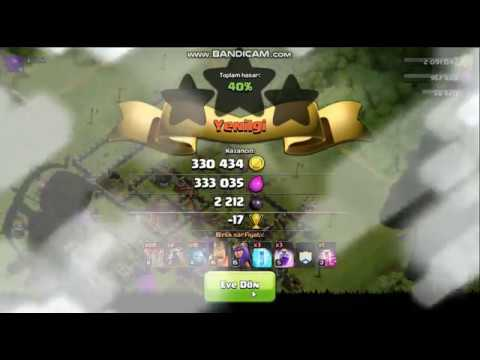 Clans  Of Clans Video  Ganimet Savaslarında Yenilgi   ...