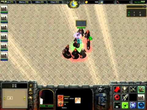 скачать карту Naruto Battle Royal для Warcraft 3 - фото 2