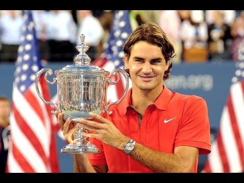 Roger Federer - All 17 Grand Slam Match Points