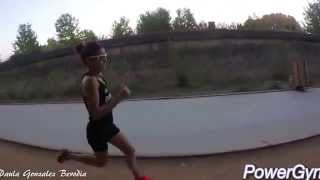 Paula Gonzalez Series 1000 ritmo 3:10 min/km
