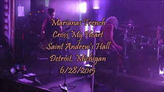 Baixar Marianas Trench - Cross My Heart (LIVE) 2015