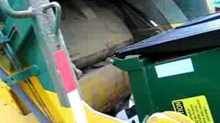 WM RL 1 yd dumpster at park