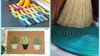 DIY Doormats Home Decor Ideas