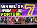 Wheel of NBA 2K Fortune 7 (We're back)