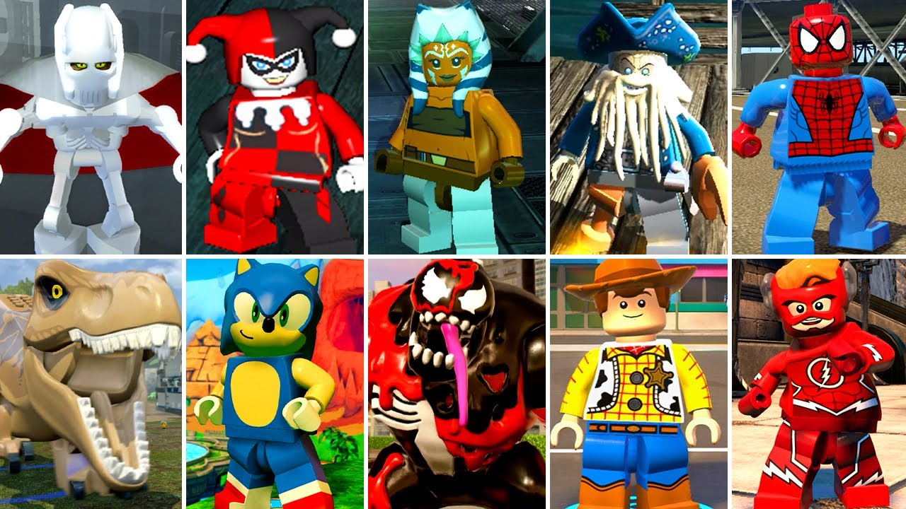 My Favorite Characters in LEGO Videogames