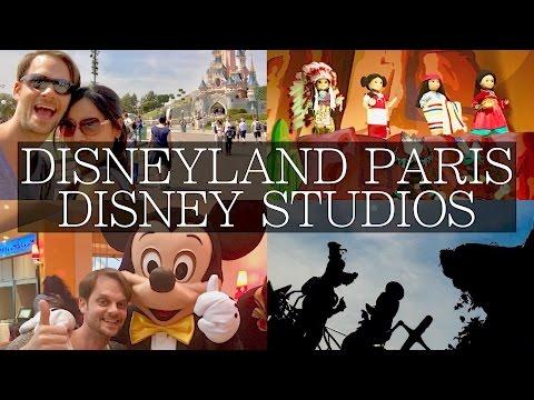 4 Days at Disneyland Paris Vlog, Disney Studios, Disney Village, Dining