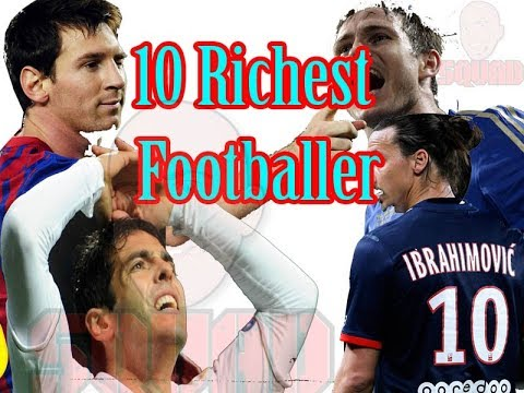 Top 10 Richest Football Players In The World | 2017 – 2018||Richest football player