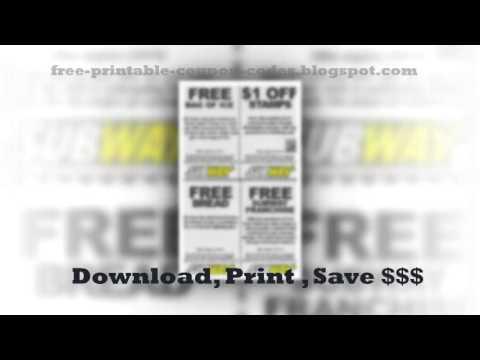 Subway Printable Coupons January 2013