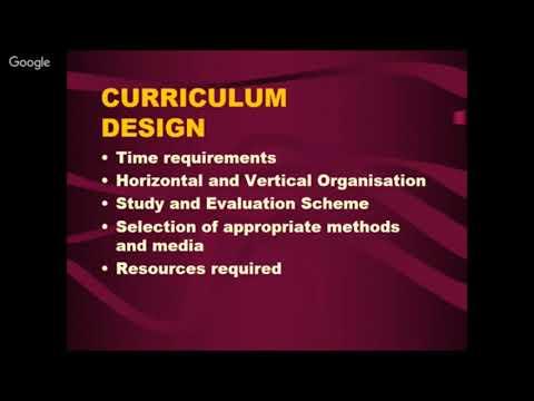 Curriculum Development Process By S K Gupta