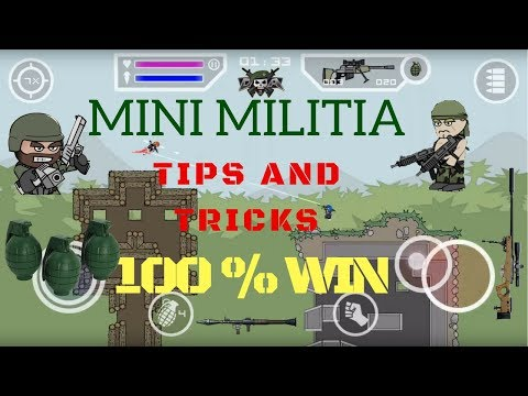 Mini Militia tricks | How to win Mini Militia Easily Without hack | Doodle Army 2 - Mini Militia
