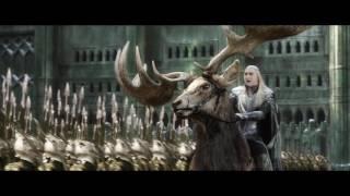 Битва между эльфами и гномами возле Одинокой Горы  Вырезанная сцена  Хоббит  Битва Пяти Воинств