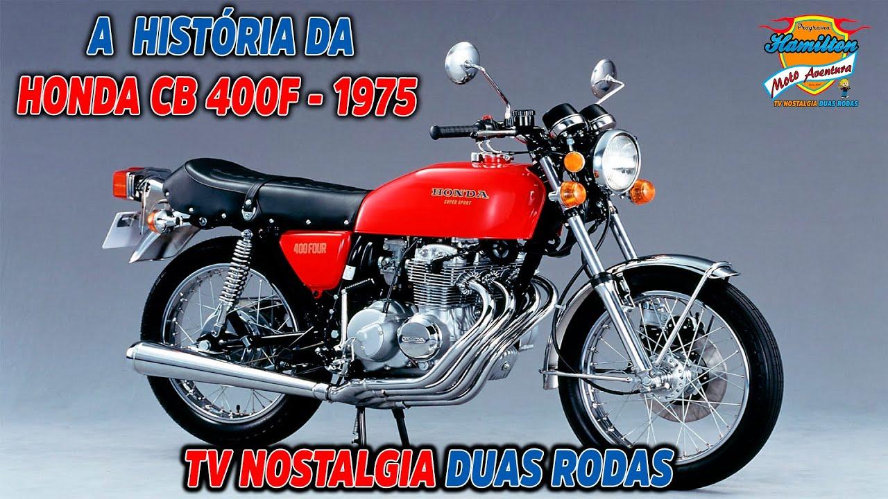 Honda CB 400F 1975 - TV Nostalgia Duas Rodas - Ep. 13