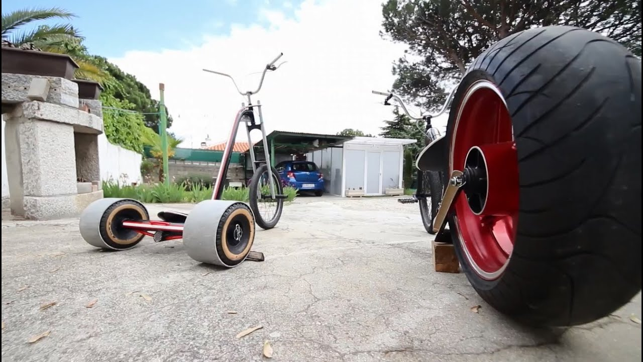 how to build a drift trike youtube