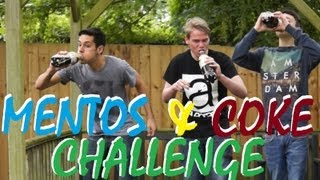 diet coke mentos challenge ft carl from typhoonbandofficial paul and tommy video blog