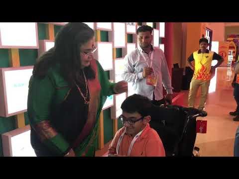Sparsh meets Bollywood's legendary singer, Ms Usha Uthup