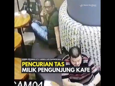Pencurian Tas di Kafe