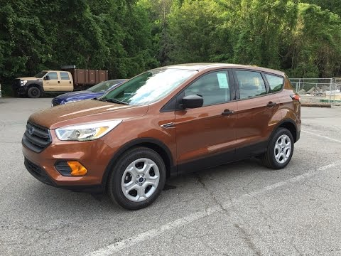 2017 Ford Escape S Review - (Base Model)