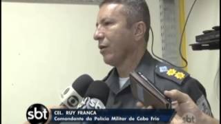 Policias Civil e Militar prendem lideres de facções criminosas, em Cabo Frio