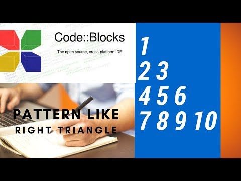 Write a program in C++ to make such a pattern like right orgle triangle with number increased by 1