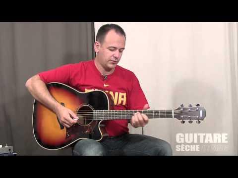 Test : Yamaha A3M - Guitare Sèche, Le Mag #20