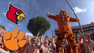 Louisville vs Clemson: Sights and Sounds