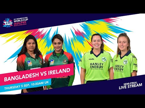 Bangladesh V Ireland LIVE: ICC T20 World Cup Qualifier Semi-final